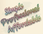 Simple, Professional, Affordable Web Design